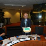 CDA overhandigt burgemeester Michelin ster