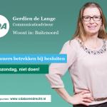 Gerdien de Lange, nr. 8 op CDA kandidatenlijst