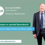 Leo van Gelder, nr. 7 op CDA kandidatenlijst