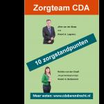 CDA Zorgteam met 10 standpunten