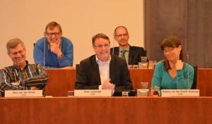 CDA Fractie in raadszaal