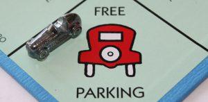 Geen betaald parkeren