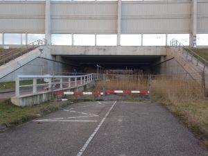 De Blauwe Verbinding tracé Heulweg als waterverbinding onder de A15