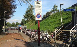 Fietsparkeren bij het station