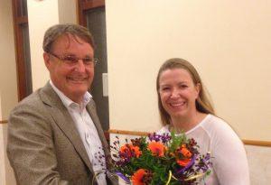 Felicitaties aan de nieuwe lijsttrekker, Peter Luijendijk