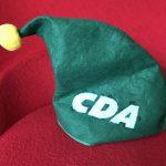 Feestdagen sportief van start voor CDA!