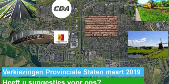 Verkiezingen voor de Provincie komen eraan!