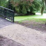 Bruggen park Buitenoord sluiten weer aan