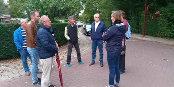 Coalitiepartijen Barendrecht zaterdag in Oranjewijk