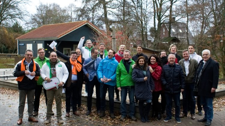 Succesvol bezoek aan de Oranjewijk