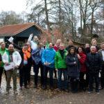 Coalitiepartijen Barendrecht zaterdag in wijk Middeldijkerplein