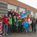 Coalitiepartijen Barendrecht zaterdag in wijk Buitenoord