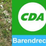 """CDA: vragen over """"Plastic in 't Park"""