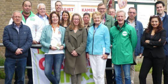 Wijkbezoek Smitshoek zaterdag 21 september