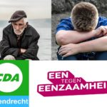 CDA Barendrecht organiseert bijeenkomst Eenzaamheid