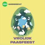 Namens CDA Barendrecht wensen wij jullie fijne paasdagen!